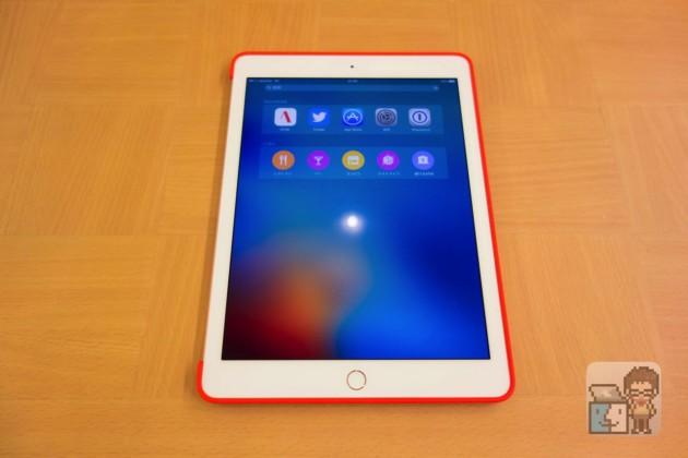 【レビュー】このケースが欲しかった!9.7インチ「iPad Pro」Apple 純正シリコーンケース(PRODUCT)RED
