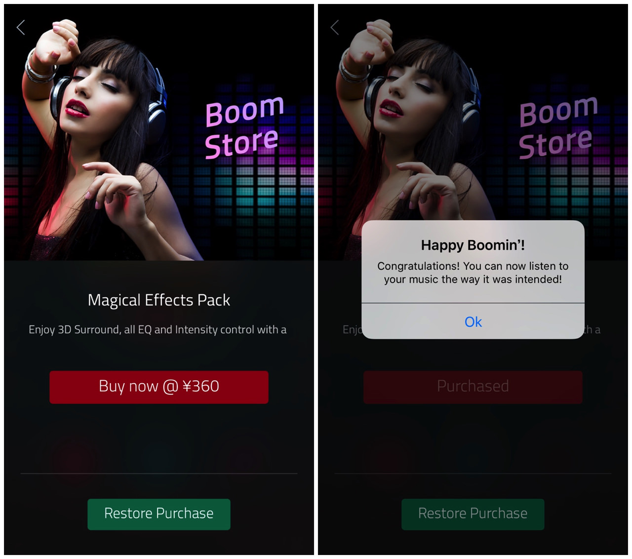 Boom music player with magical surround sound4