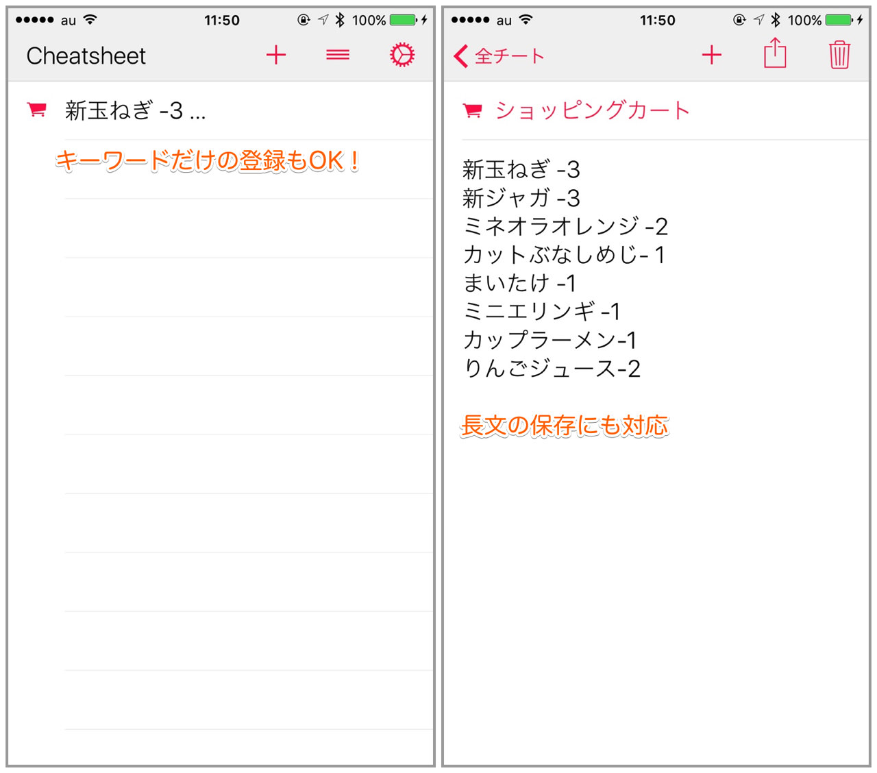 Cheatsheet scribble widget2