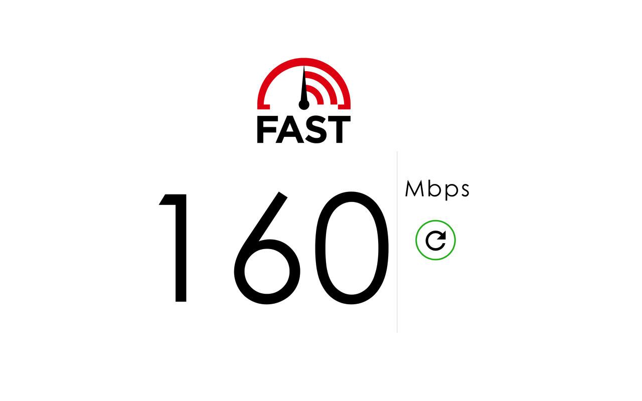 インターネットのスピードテストをするならNetflix の「Fast.com」が簡単で便利!
