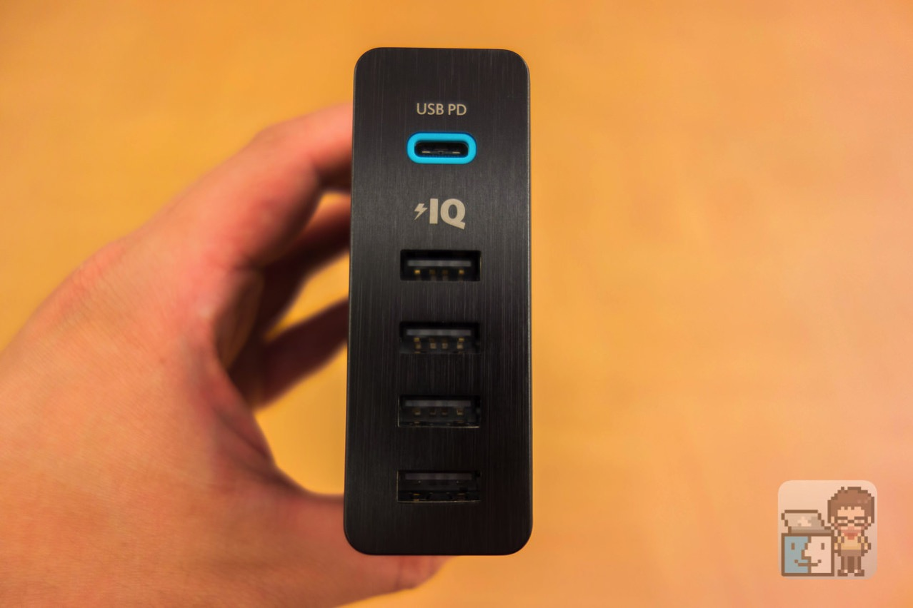 Review anker powerport plus 5 usb c power deliver3