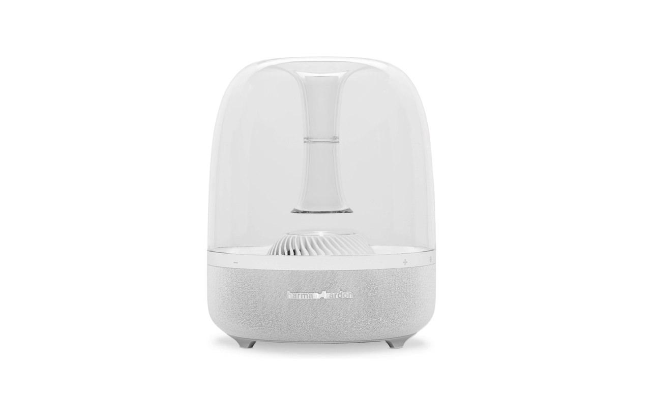 まさに近未来!カプセル型 Bluetooth / Wi-Fi対応ワイヤレススピーカー「Harman Kardon Aura」が Apple Online Store に登場!