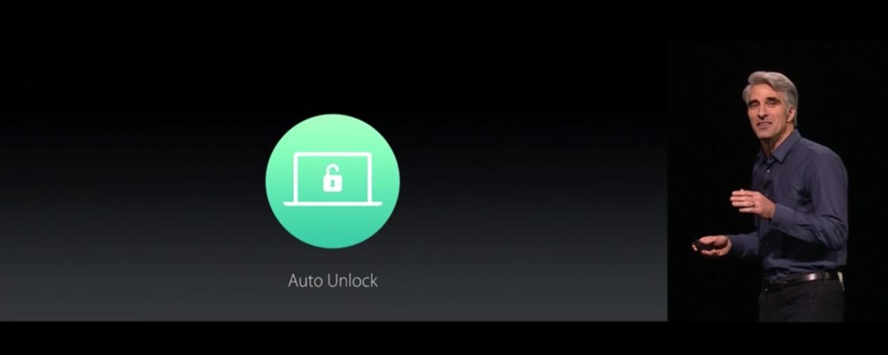 Auto Unlock(オート・アンロック)機能