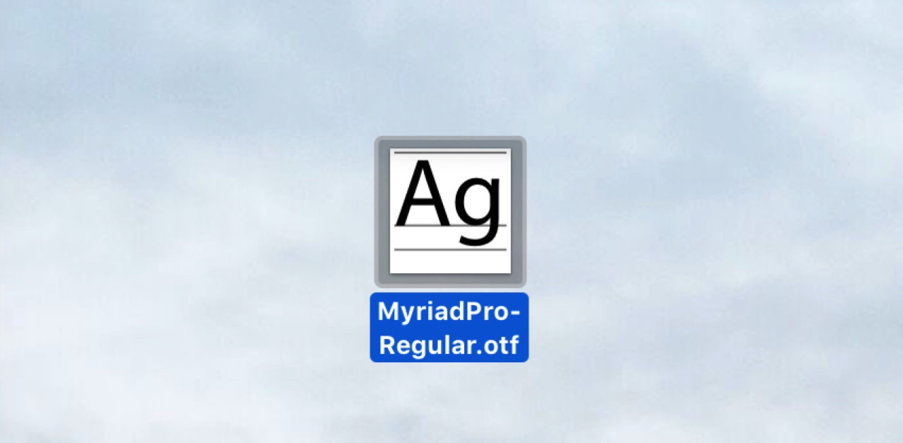 How to install free font on mac4