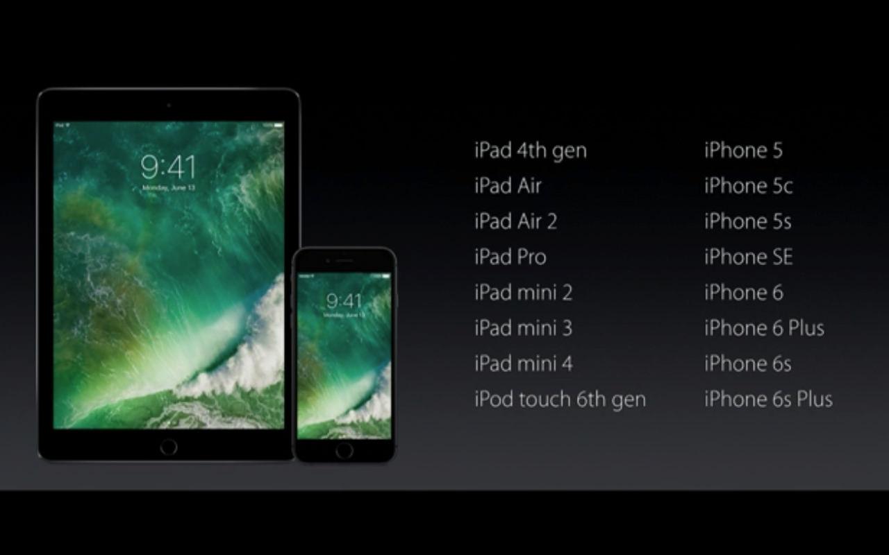 iPhone 4s、「iOS 10」のアップデート対象外に