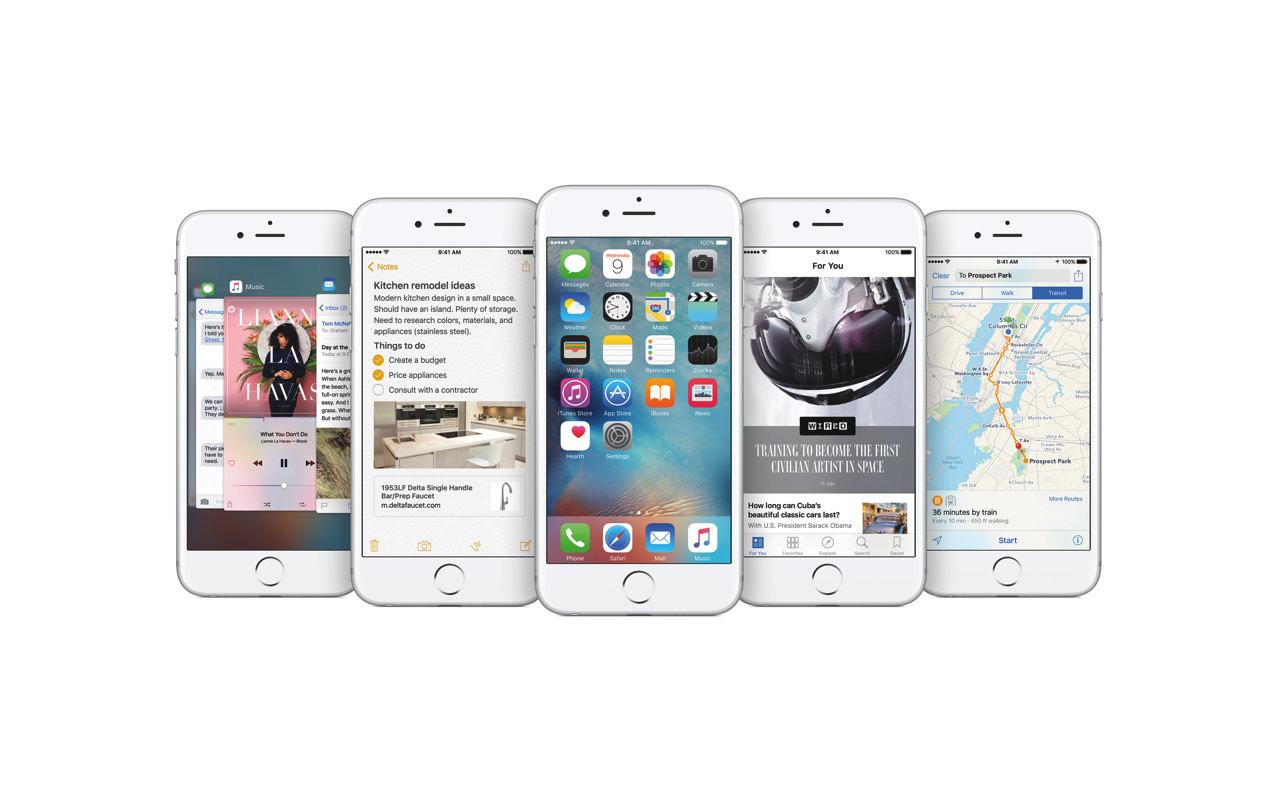 「iOS 10」、標準アプリの削除が可能に