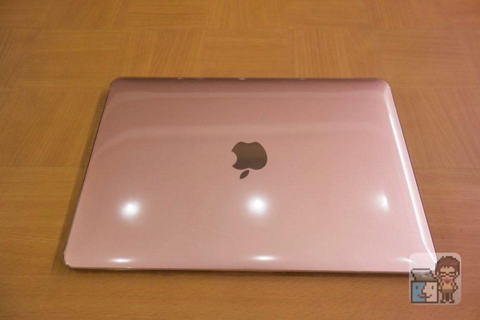 【レビュー】薄い!軽い!傷つきにくい!Macbook 12インチ用ハードケース「パワーサポート エアージャケット」