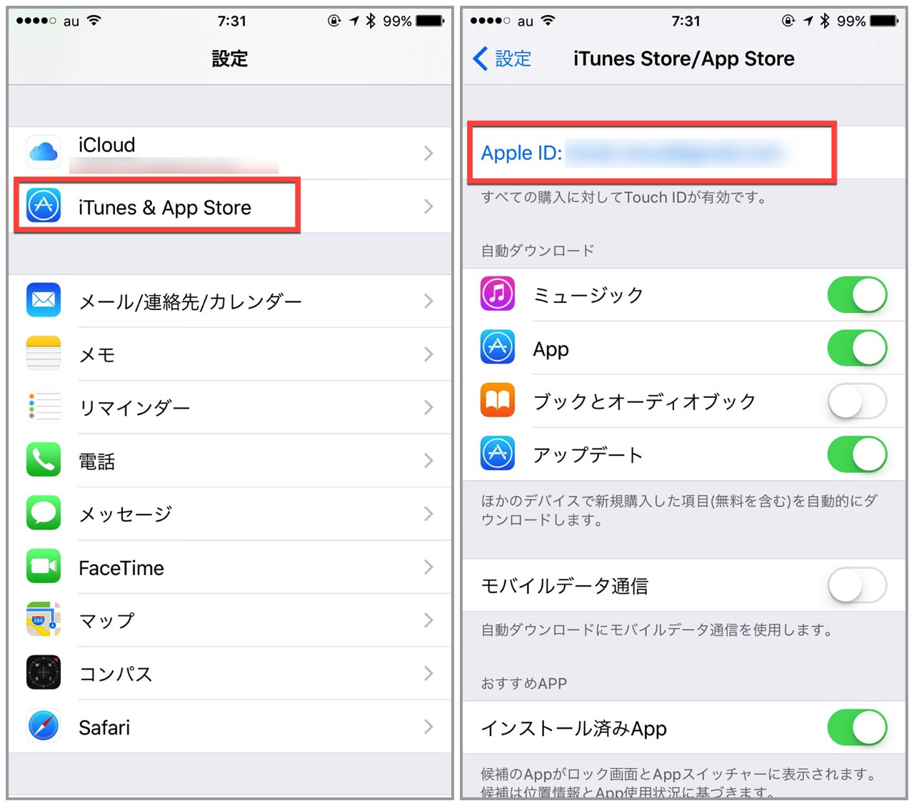 Apple corresponding carrier settlement kddi1