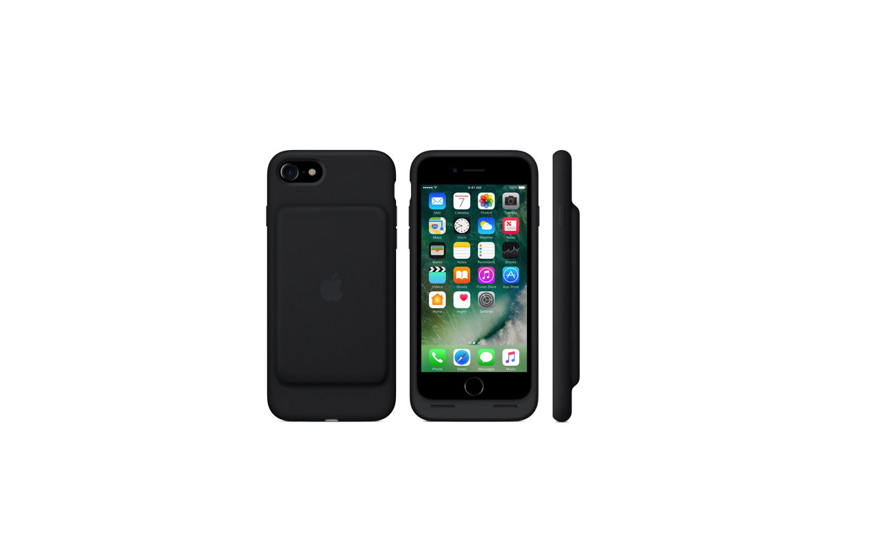Apple、「iPhone 7」向け充電バッテリー内蔵ケース「iPhone 7 Smart Battery Case」発売開始