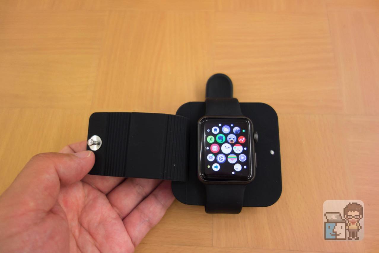 【レビュー】「Apple Watch」をコンパクトに収納・充電できるケースが便利!