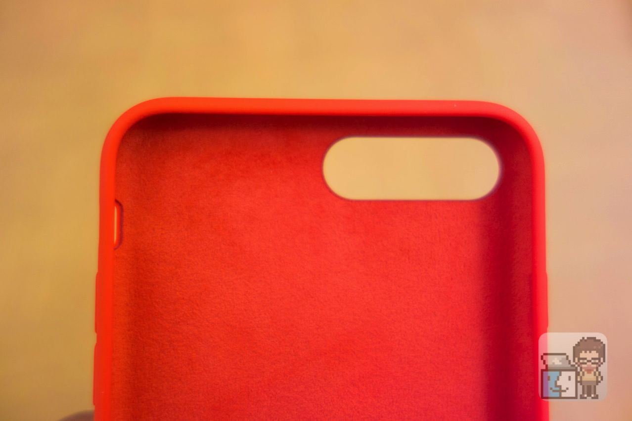 Unboxing iphone 7 plus silicone case product red10