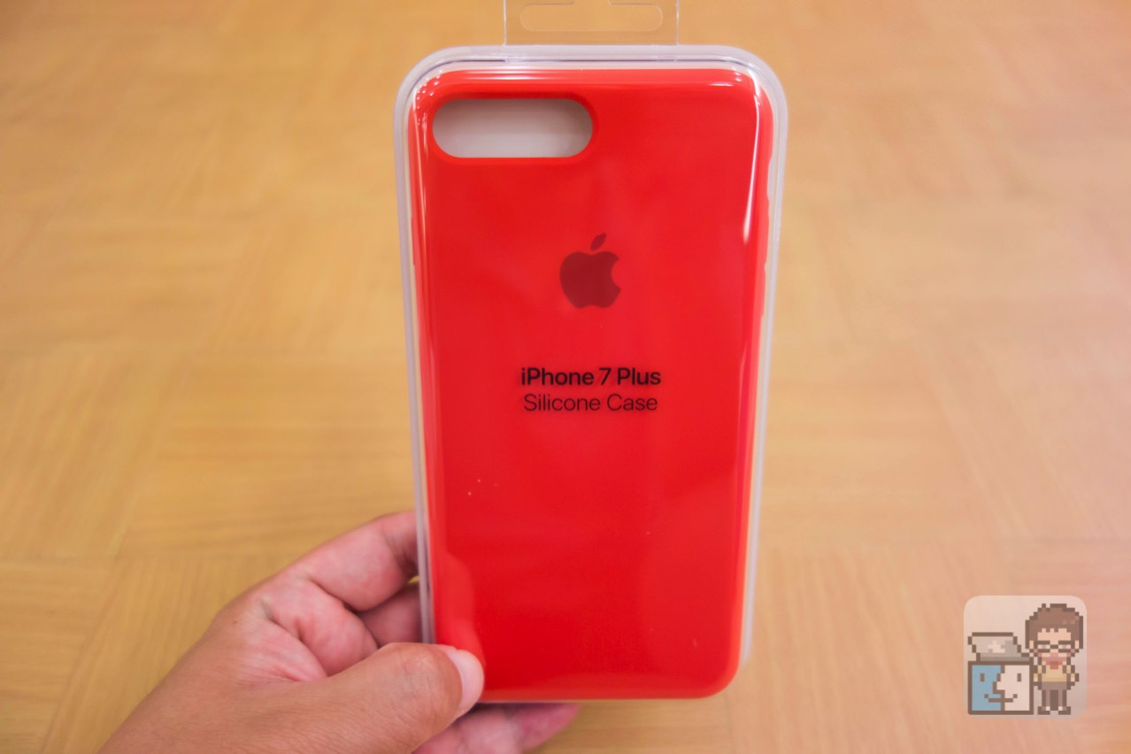 Unboxing iphone 7 plus silicone case product red12