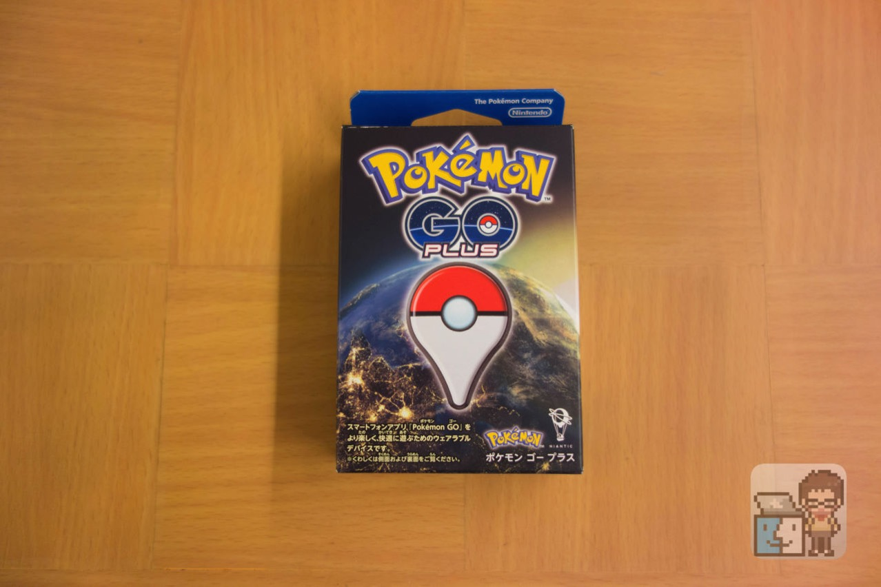 Unboxing pokemon go plus1