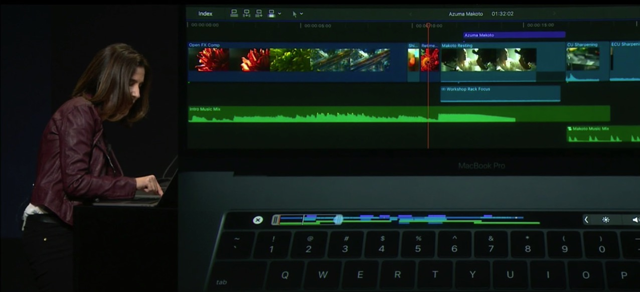 App corresponds touch bar macbook pro late 201612