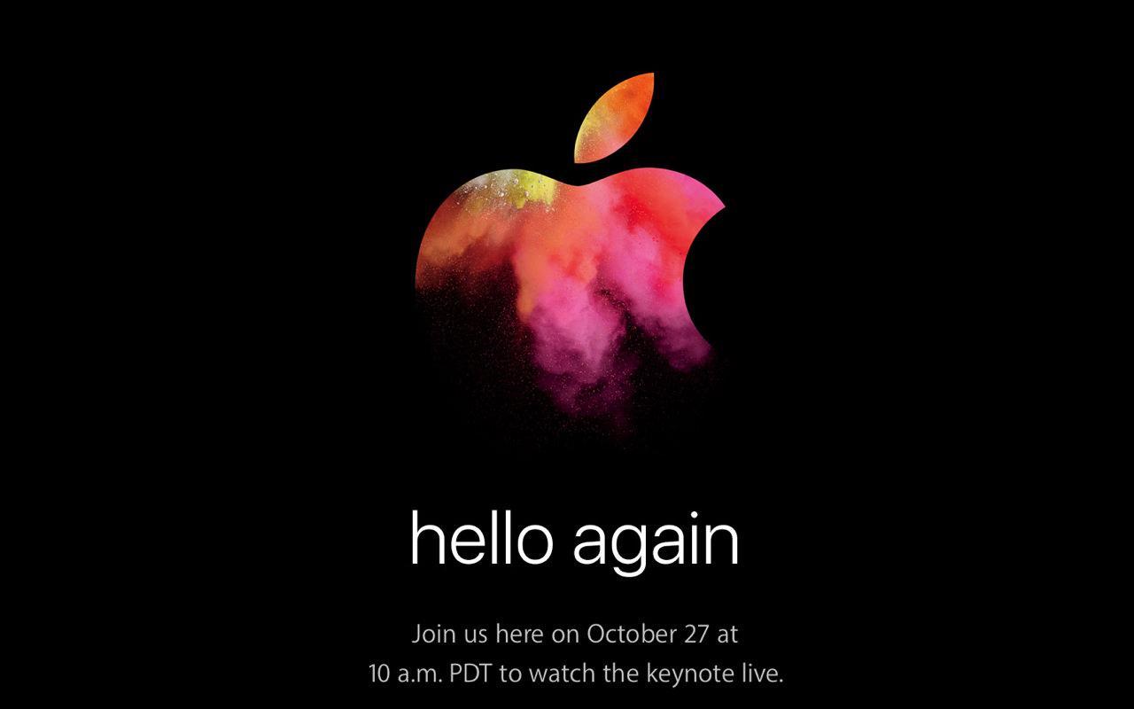Apple、10月27日にスペシャルイベントを開催 ― 新型 MacBook Pro 発表へ