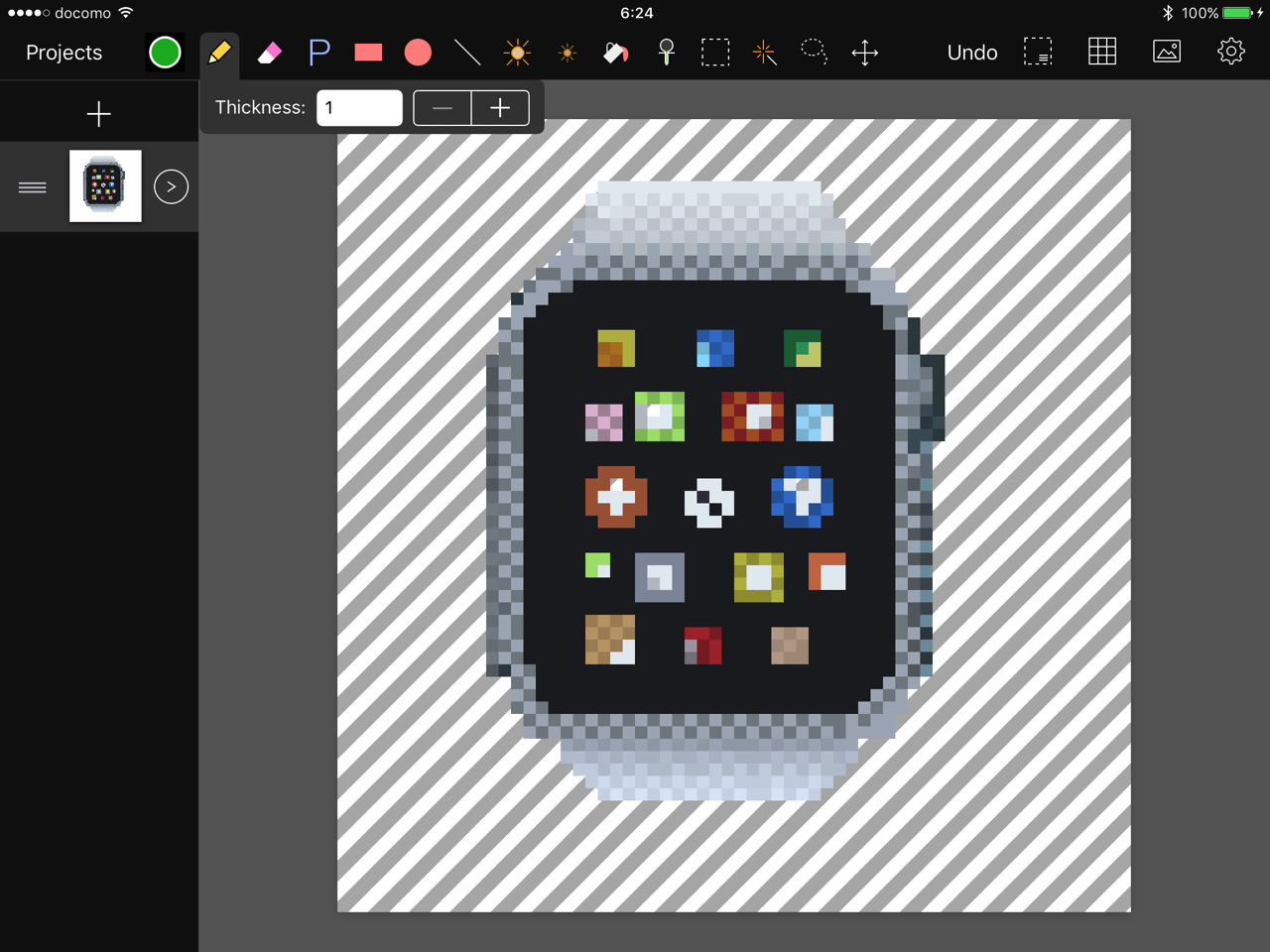 Pixen for ipad3