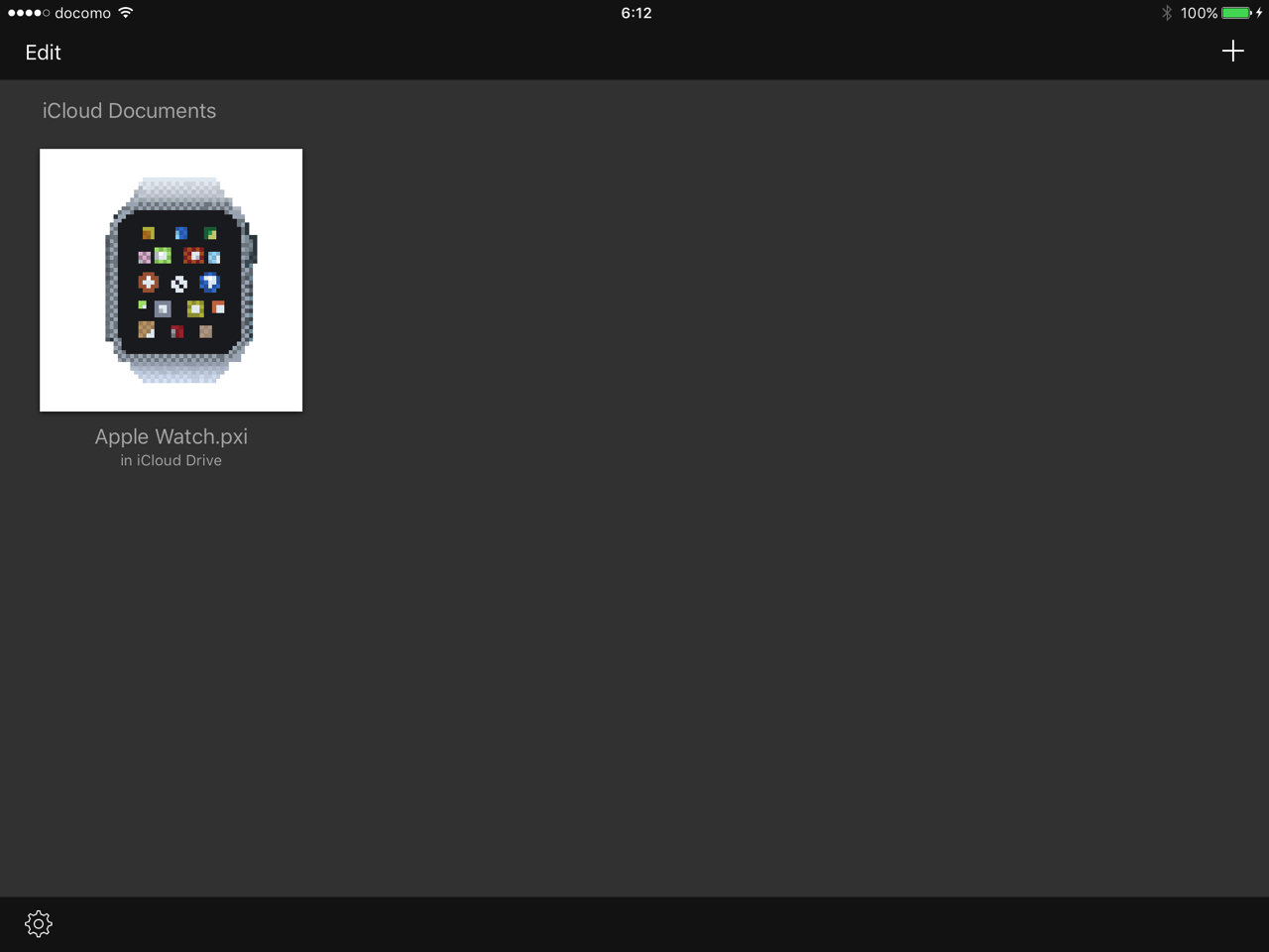 Pixen for ipad4