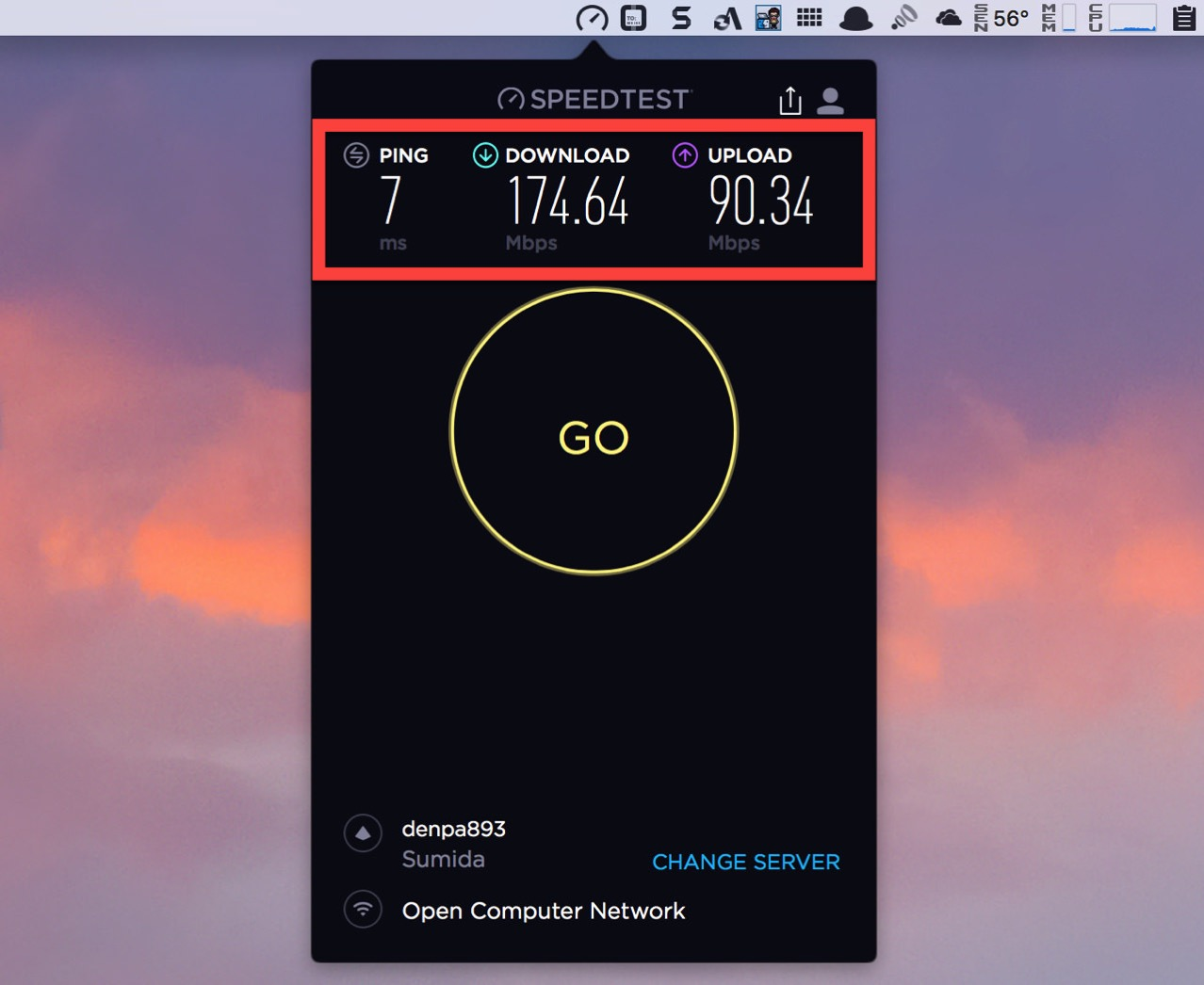 Speedtest by ookla for mac2