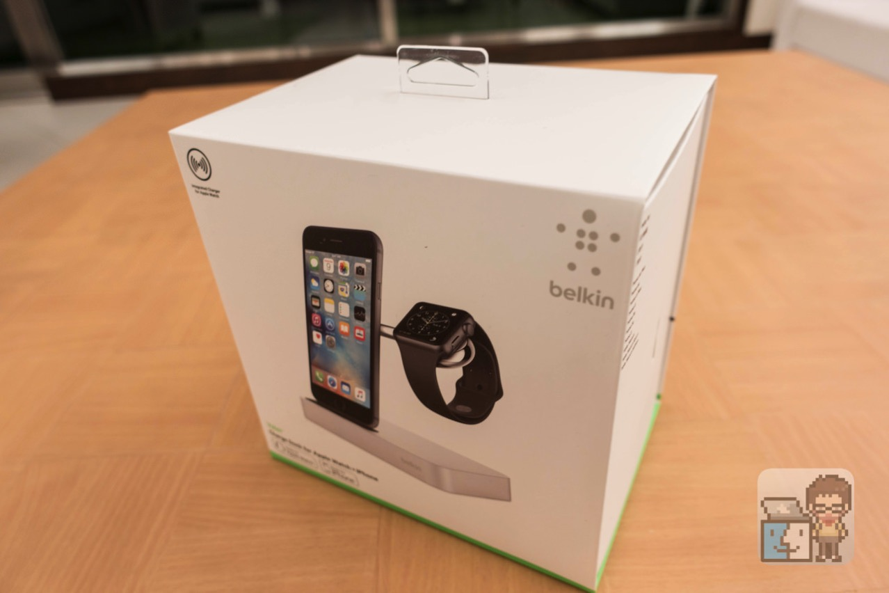 Belkin valet charge dock for apple watch iphone11