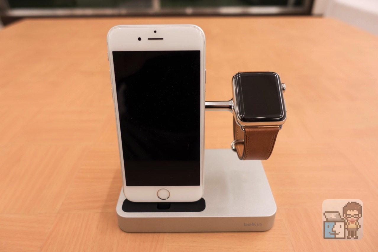 Belkin valet charge dock for apple watch iphone4