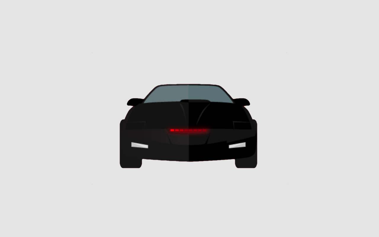 ファン歓喜!Touch Bar に「ナイトライダー」の車のライトを表示できるMacアプリ「KnightTouchBar2000」