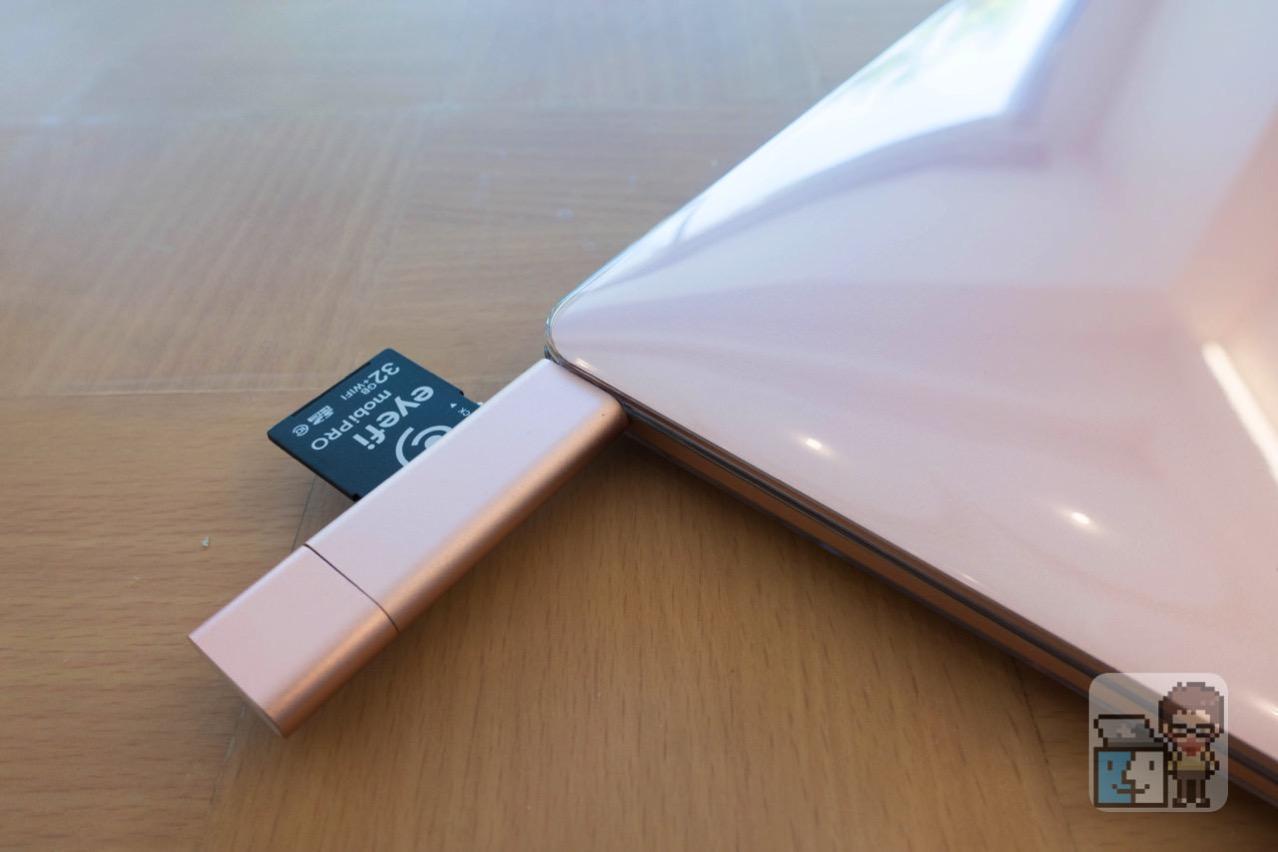 【レビュー】これは便利!Satechi製 スティック型 USB-C SDカードリーダーは、MacBook 12インチ/新型 MacBook Pro におすすめ![PR]