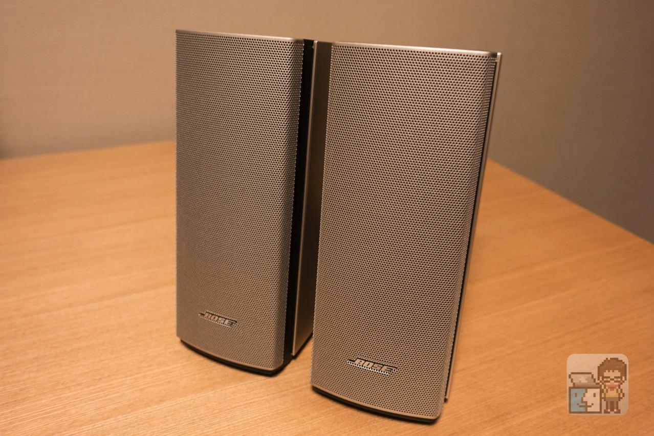 【レビュー】Macの外部スピーカーに超おすすめ!「Bose Companion 20」