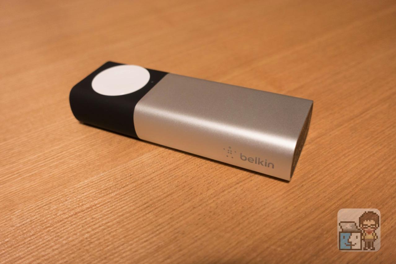 【レビュー】Belkin:Apple Watch と iPhone を同時に充電できるモバイルバッテリー「Valet Charger Power Pack」[PR]