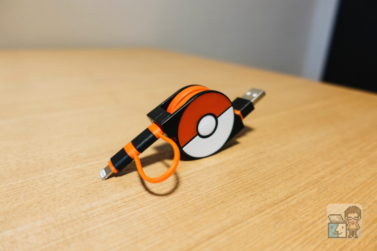 Cheero 2in1 retractable usb cable with lightning micro usb pokemon version2