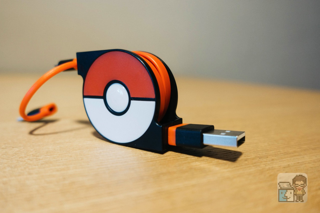 Cheero 2in1 retractable usb cable with lightning micro usb pokemon version6