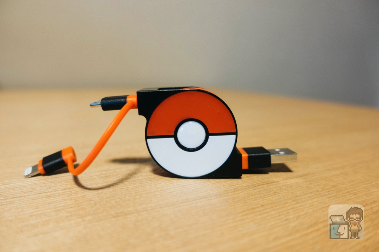 Cheero 2in1 retractable usb cable with lightning micro usb pokemon version7