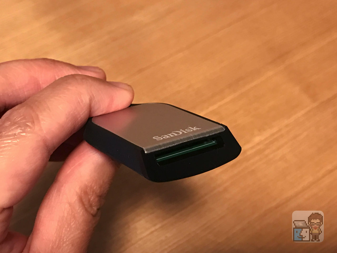 Sandisk extreme pro sd uhs ii card usb c reader review3