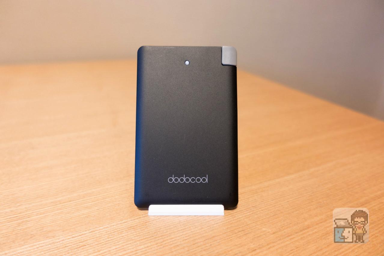 【レビュー】極薄で超軽量!MicroUSB・Lightningケーブル内蔵のdodocool 製カード型 モバイルバッテリー[PR]