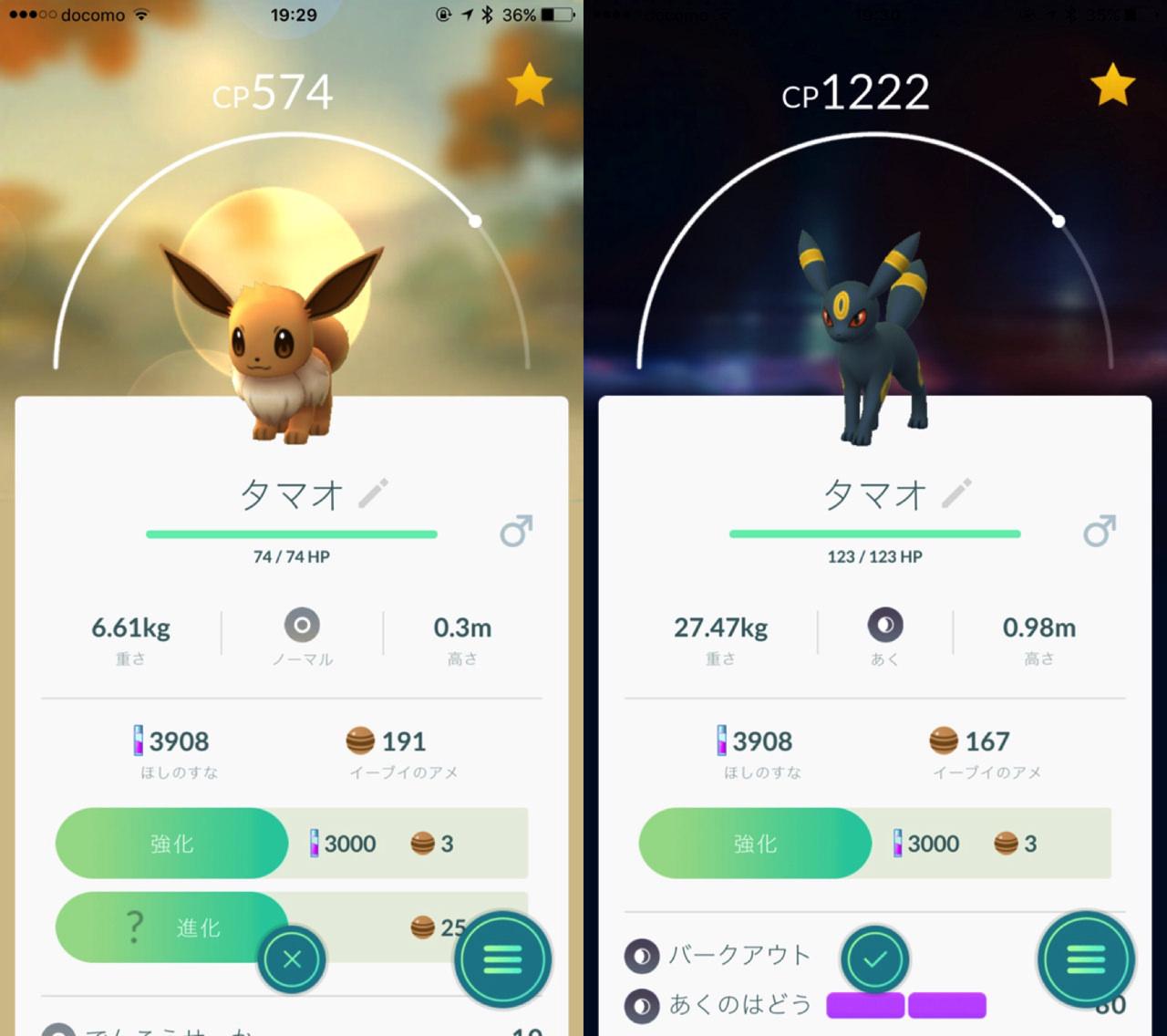 Pokemon go tamao sakura1