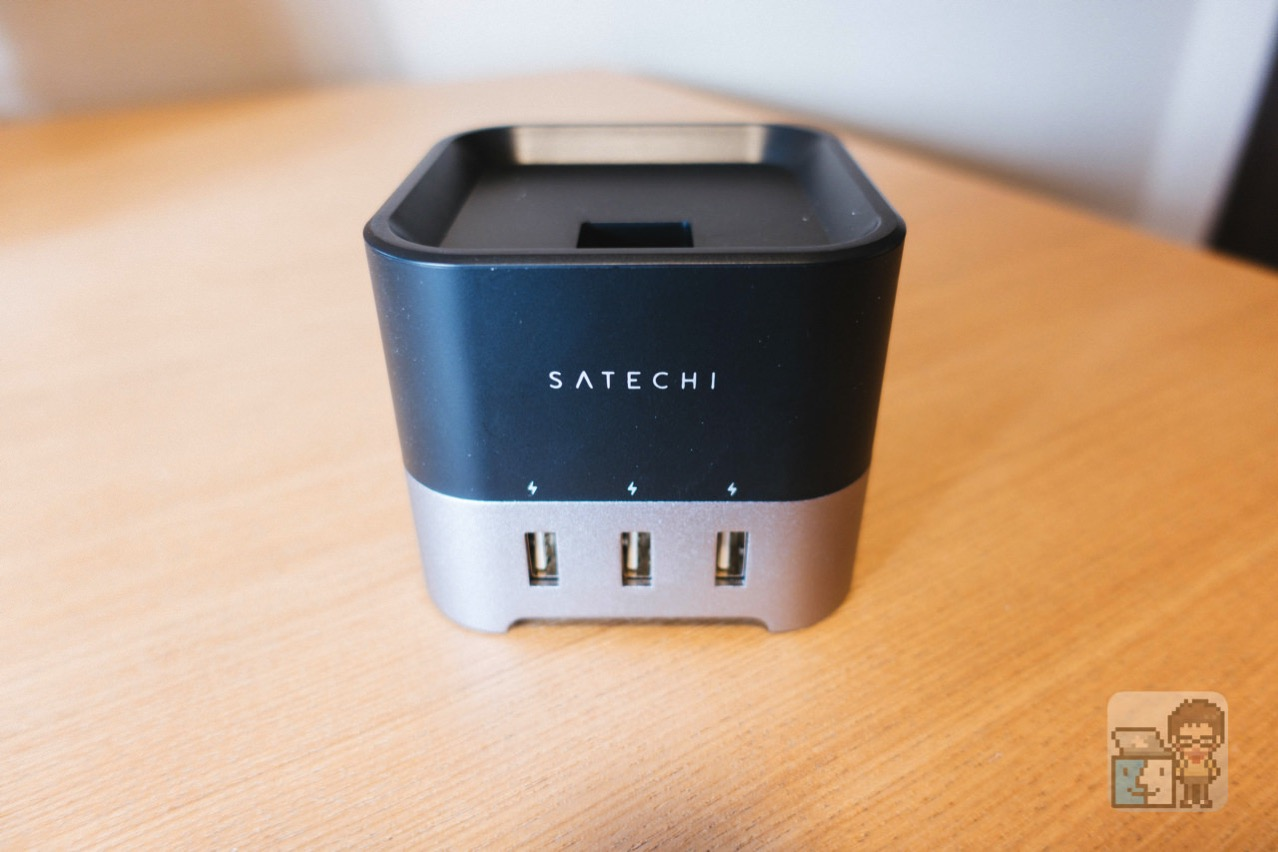 Satechi smart charging stand for apple watch2