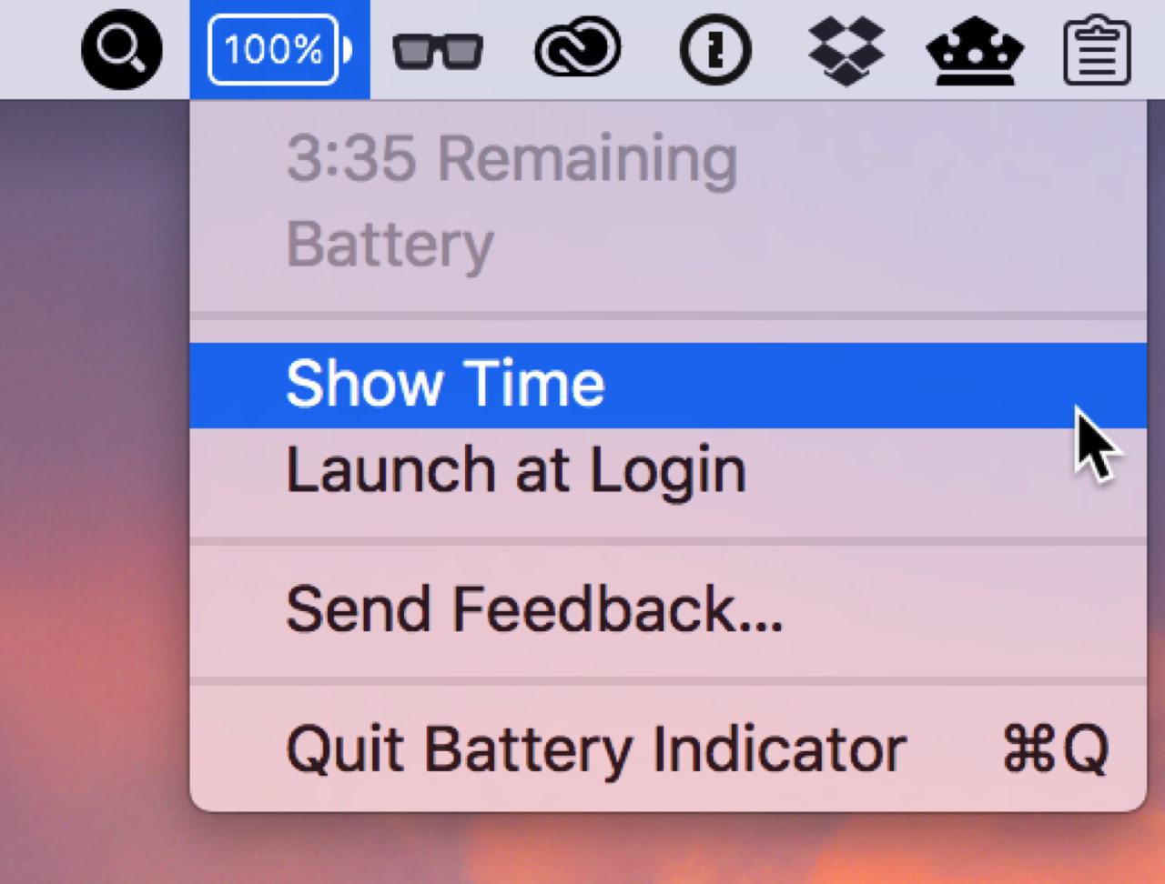 Battery indicator3