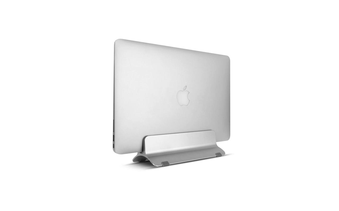 MacBook を縦置き収納できるサンワサプライのアルミ製スタンド