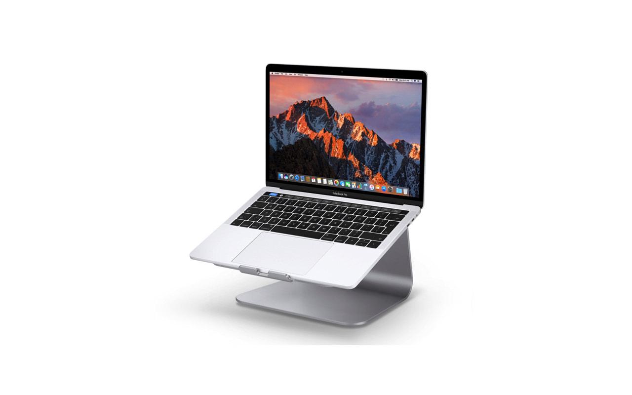肩こり軽減!MacBook を360度回転できる快適なラップトップスタンド「Rain Design mStand 360」
