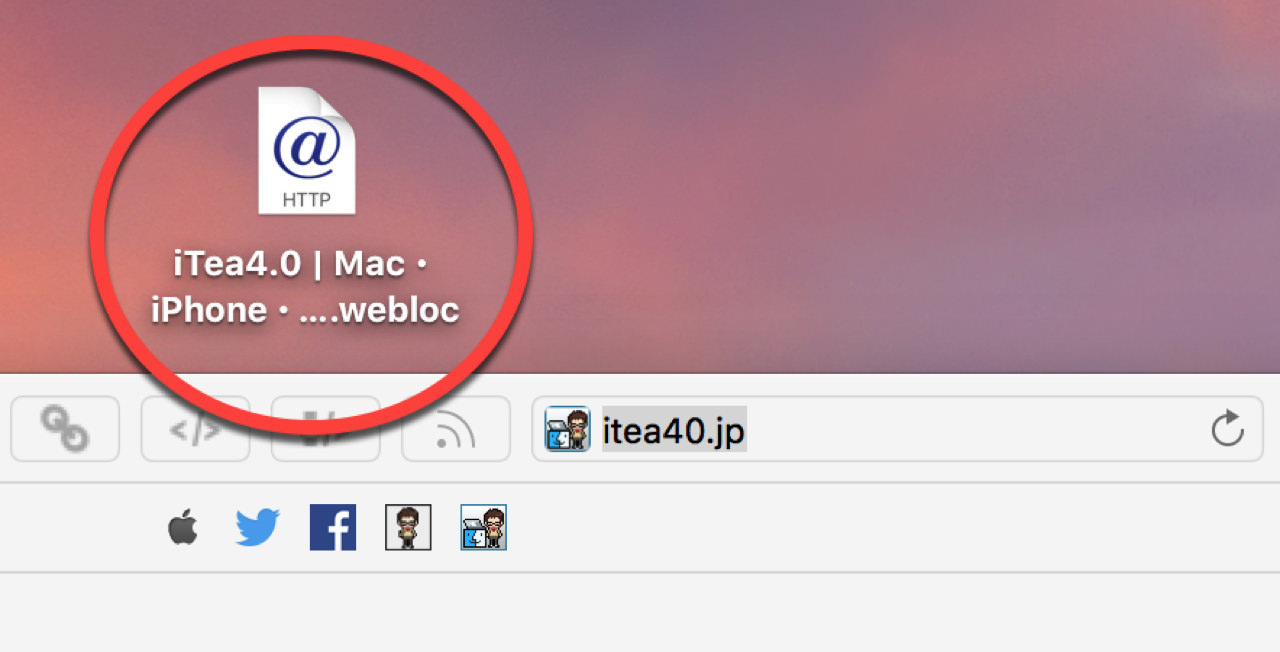 Create web site shortcuts desktop2