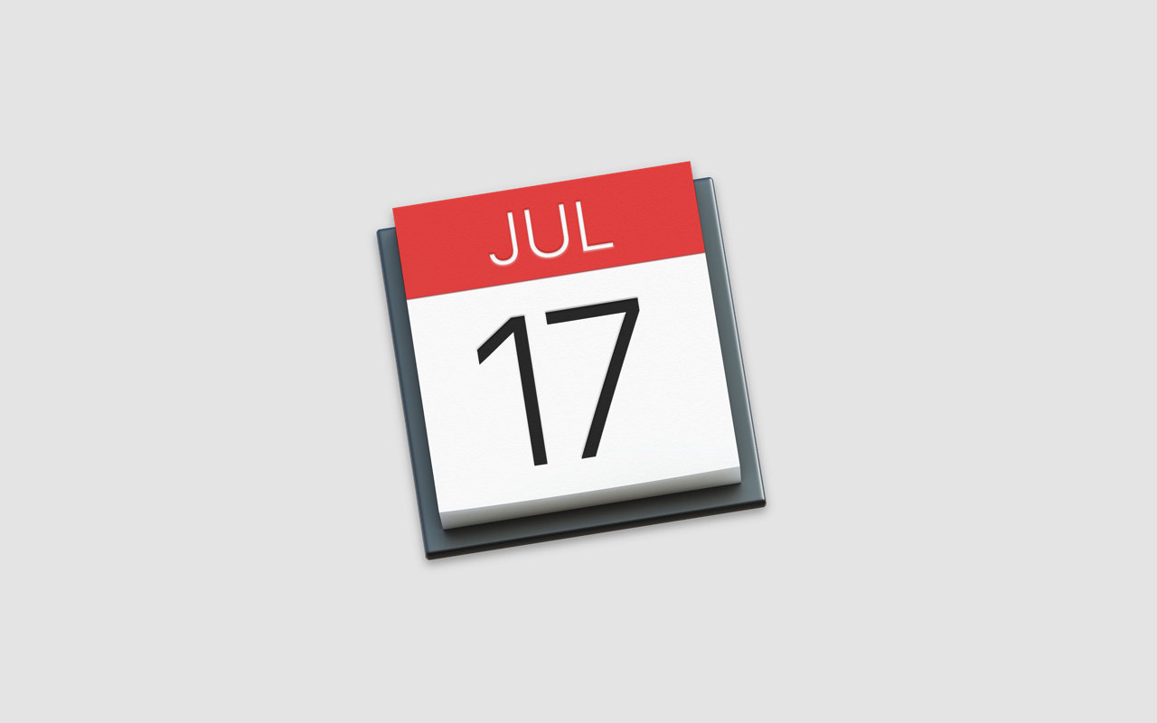 Mac ―「カレンダー」アプリに祝日や誕生日を表示させる方法