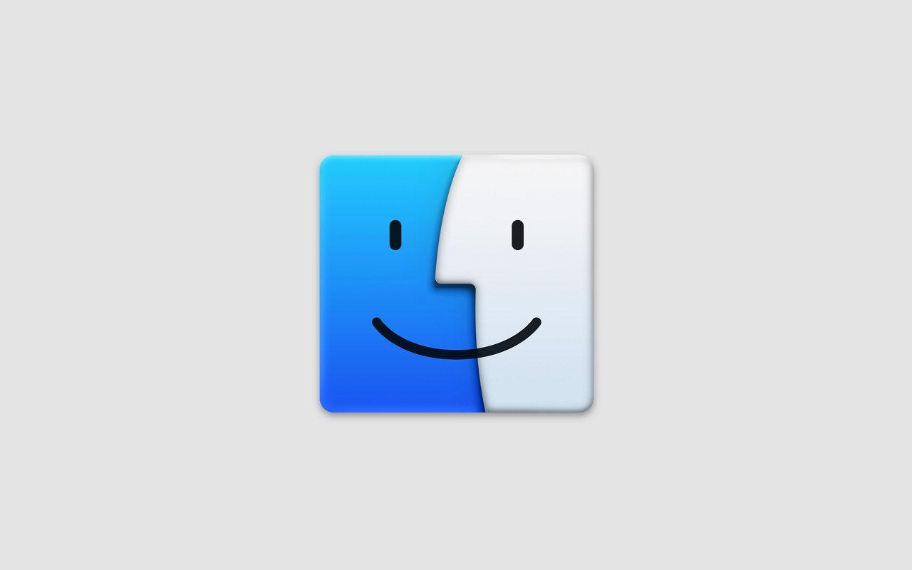 Mac ― Finder のツールバーをカスタマイズする方法
