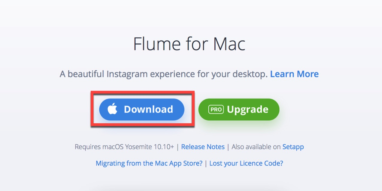 Transfer license of mac application flume9