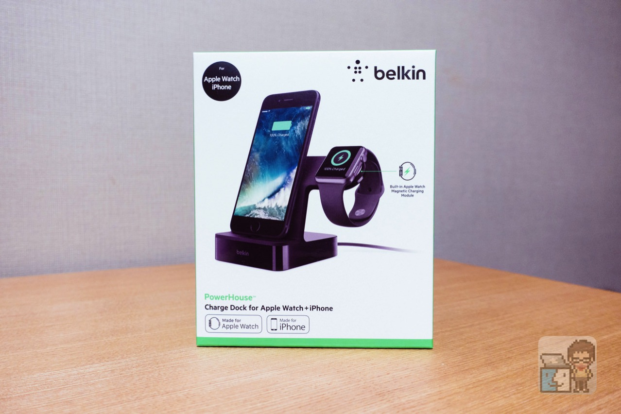 Belkin powerhouse charge dock for apple watch iphone3