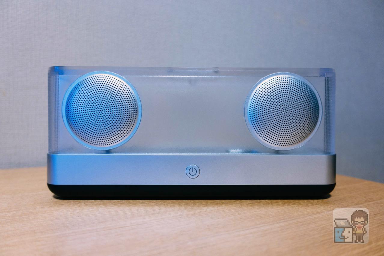 【レビュー】Inateck スケルトンボディのワイヤレス Bluetooth スピーカー BP2003 [PR]