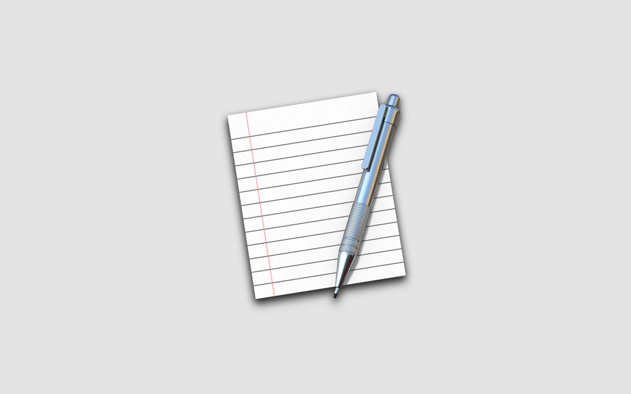 Mac ―「テキストエディタ」の新規ファイルを素早く作成する方法