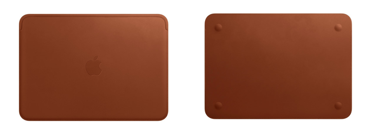 Apple leather sleeve for official 12inch macbook2