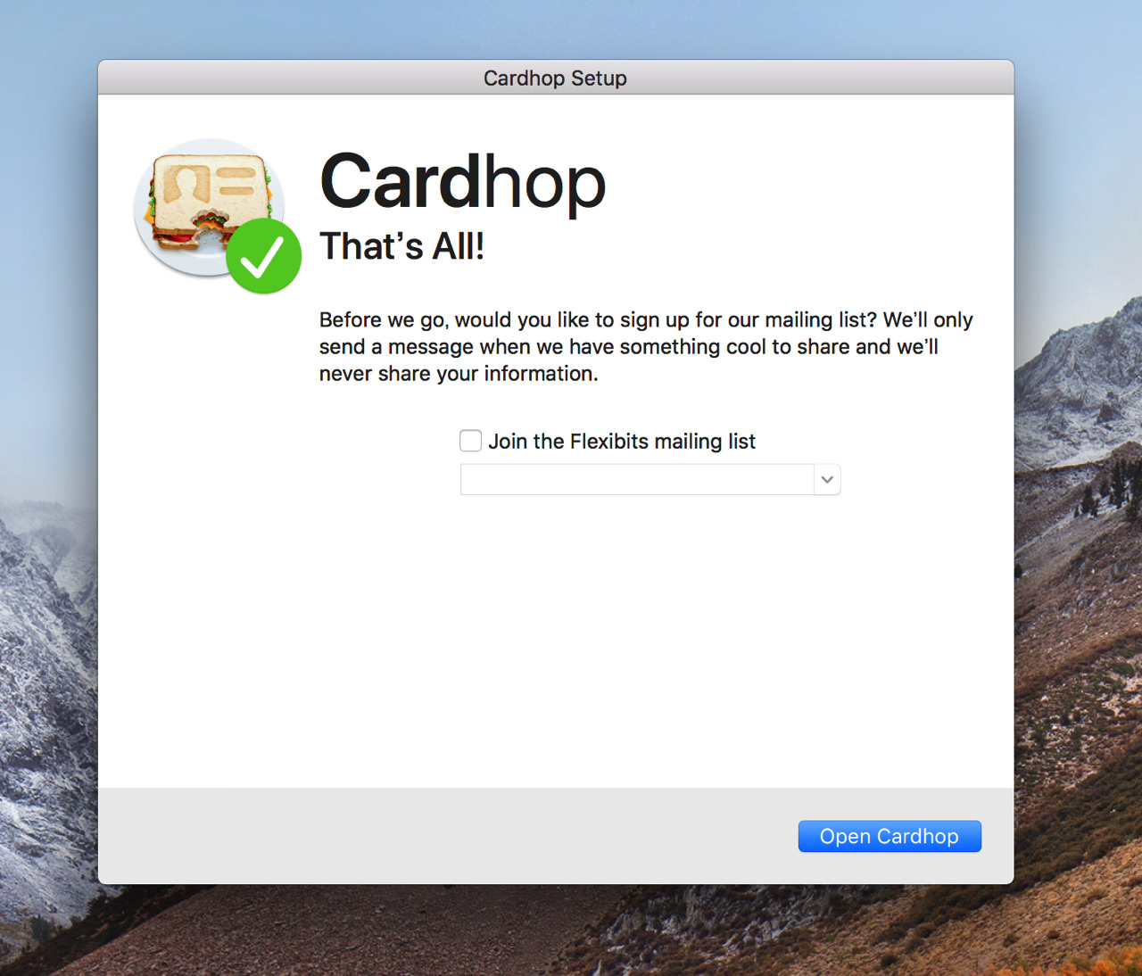 Cardhop for macos6
