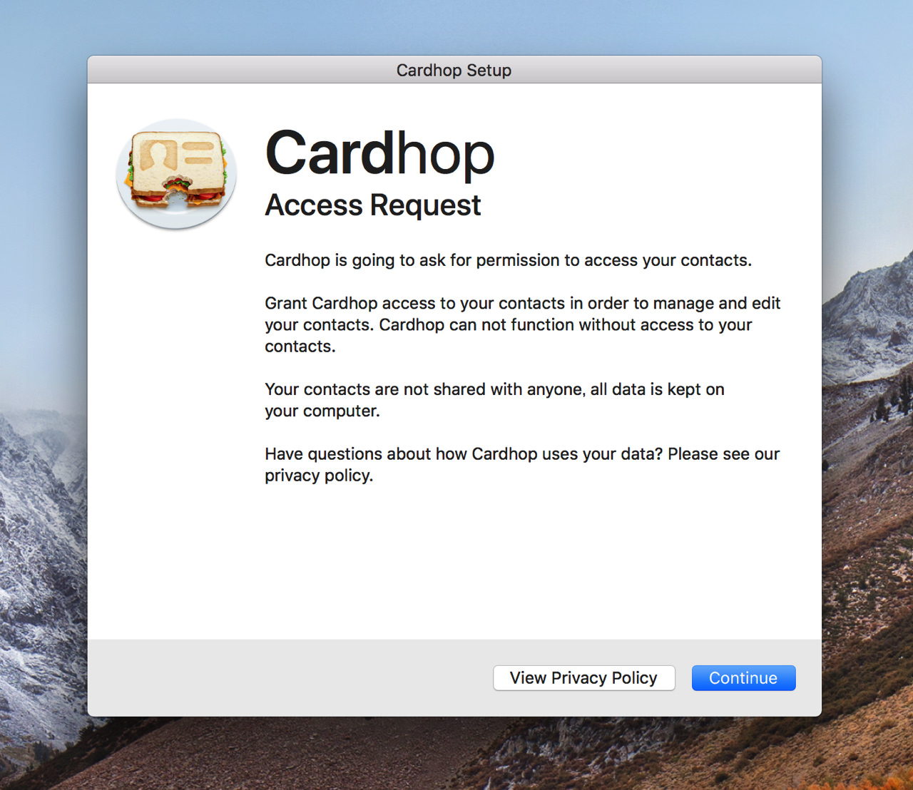 Cardhop for macos8