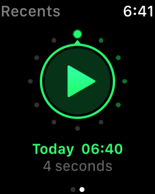 Just press record watch1
