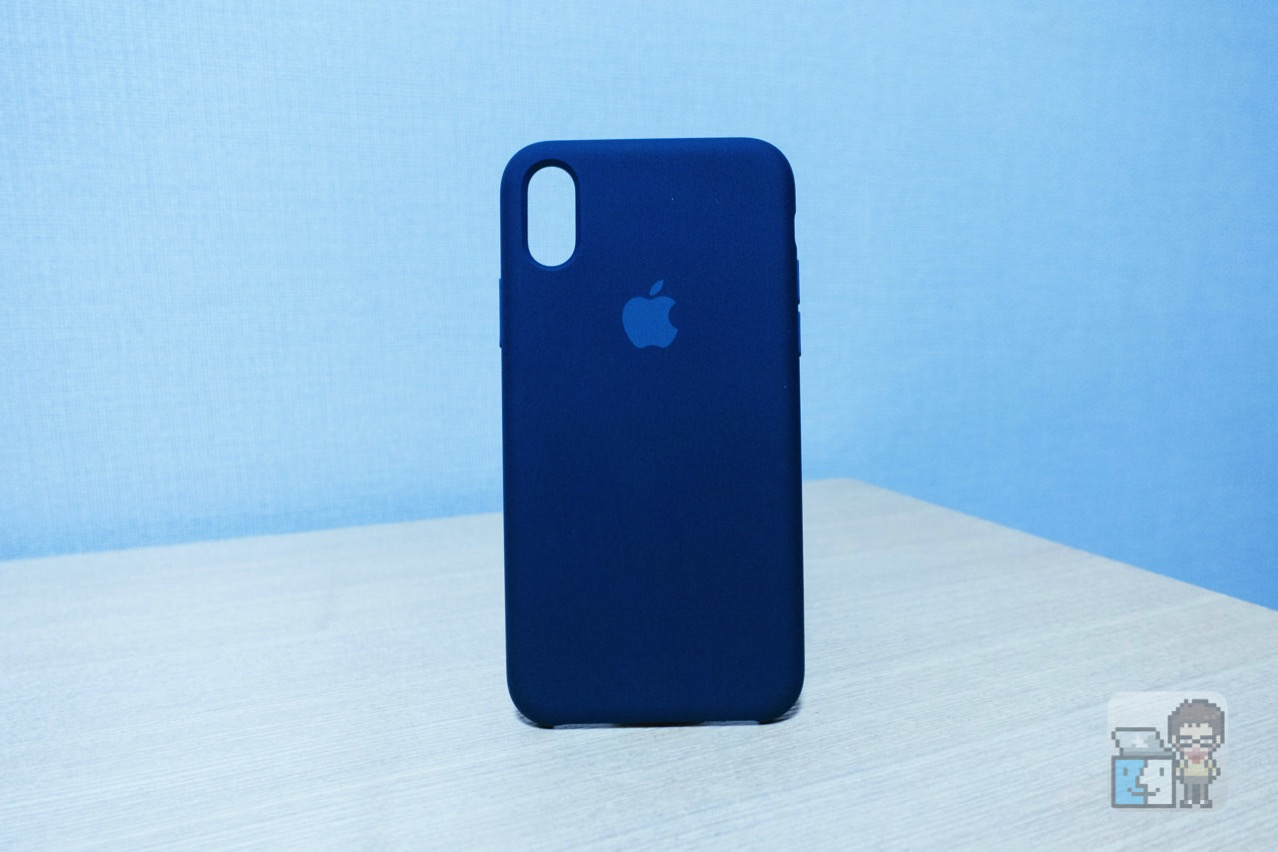 【レビュー】iPhone X ケース ― Apple 純正シリコーンケース(ブラック)